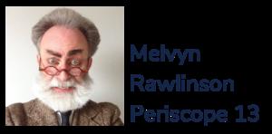 Melvyn Rawlinson Periscope 13 logo